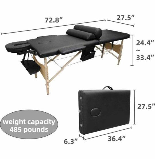 ootori-massage-table-measure