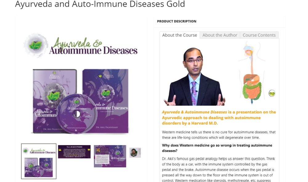 ayurveda and auto immune diseases-the course