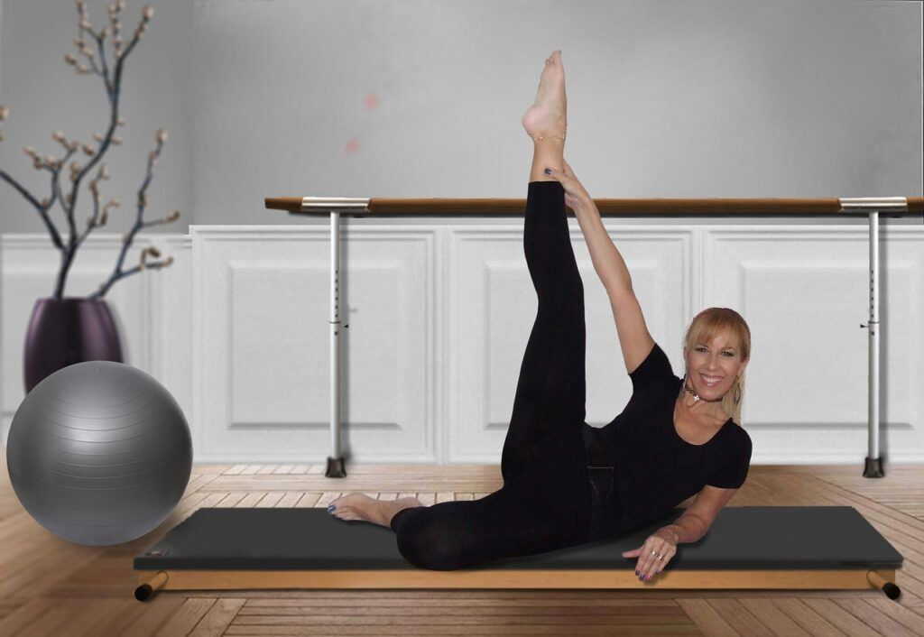 3 practices for body mind balancing and longevity-pilates with props
