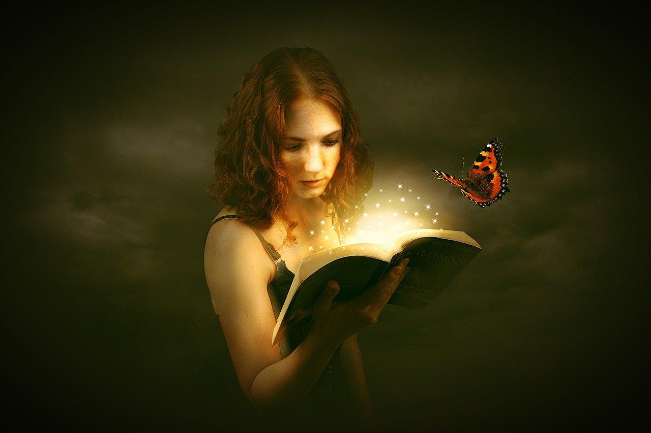 Prajna ayurvedic rituals for happiness-woman reading