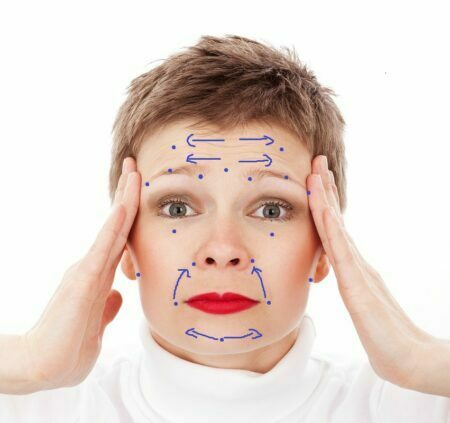 anti aging acupressure points facelift massage